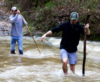 Braving the Waters of Black Creek at the Fultondale's Rails to Trails