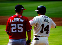Adam LaRoche and Martin Pardo