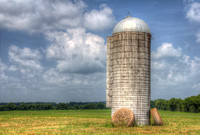 Grain Silo in Hale County, Alabama
